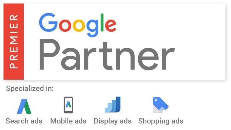 Agence Média certifiée Partenaire Google