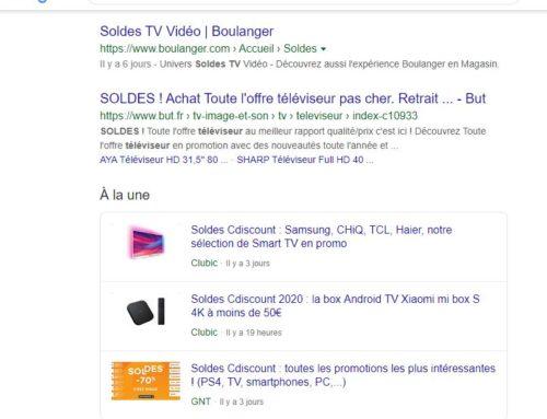 Le cluster Google Actualités «A la une», source de visibilité en communication multimédia !
