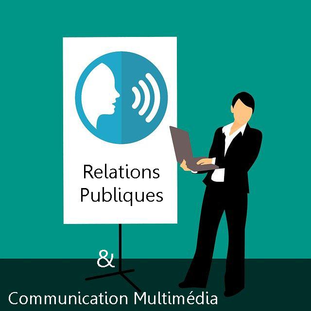 relations publiques communication multimédia