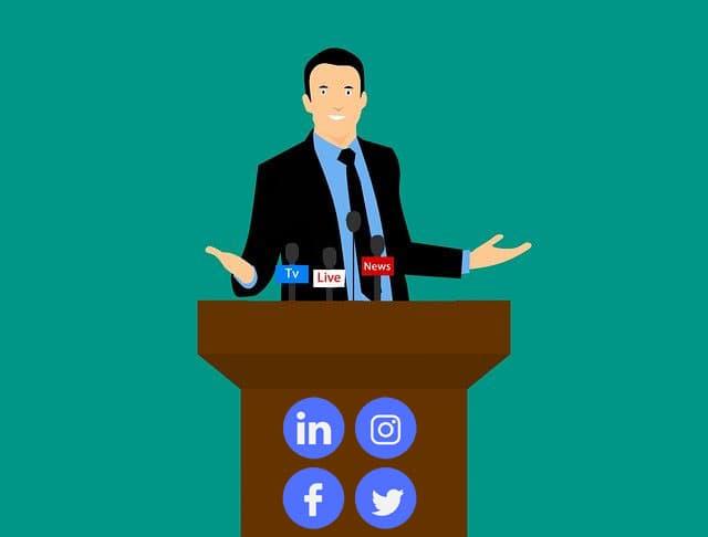 stratégie sociale de relations presse